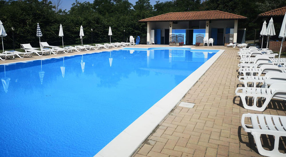 Golf Club Villa Carolina Piscina