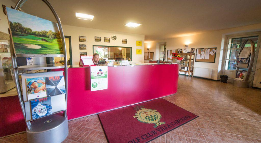 Golf Club Villa Carolina Segreteria
