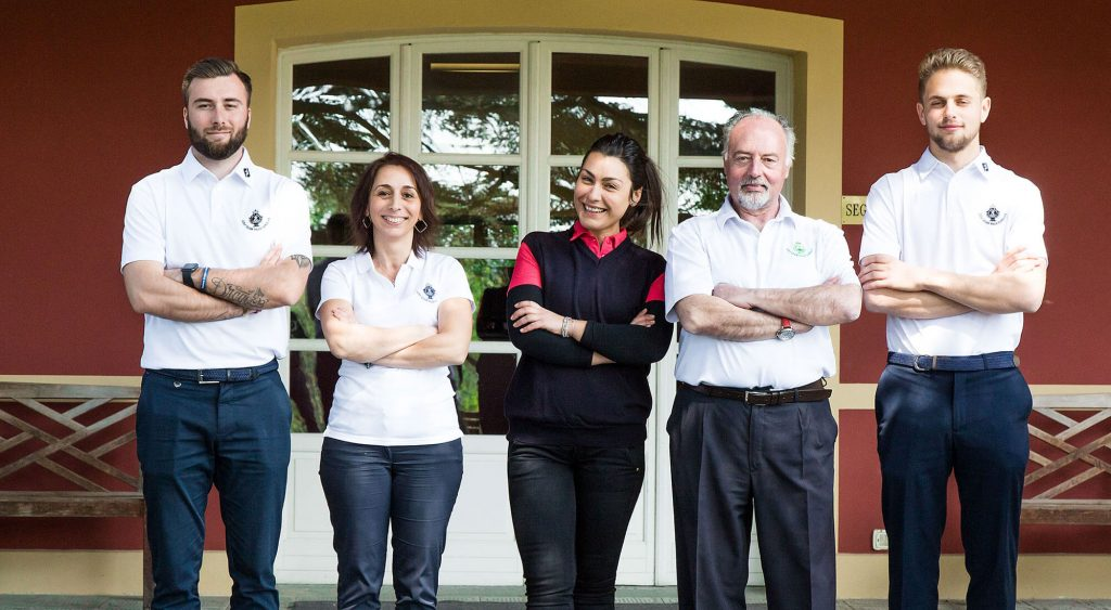 Golf Club Villa Carolina Staff