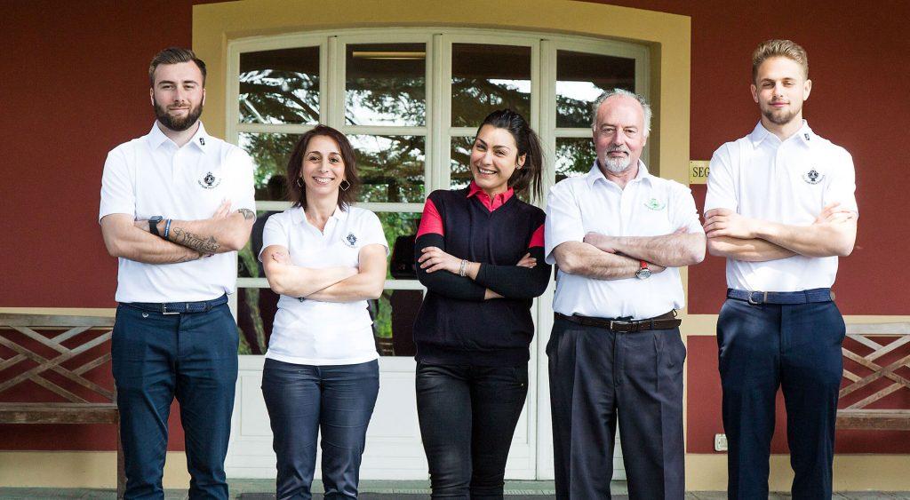 Golf Club Villa Carolina Staff
